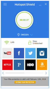 Hotspot Shield 7.15.1 Crack With License Key 2018