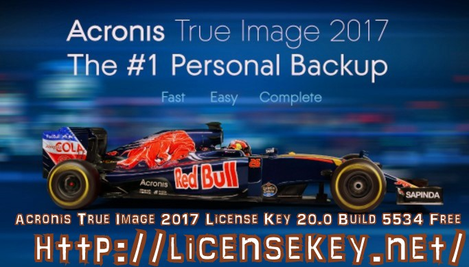 Acronis True Image 2017 Crack + Activation Key Download