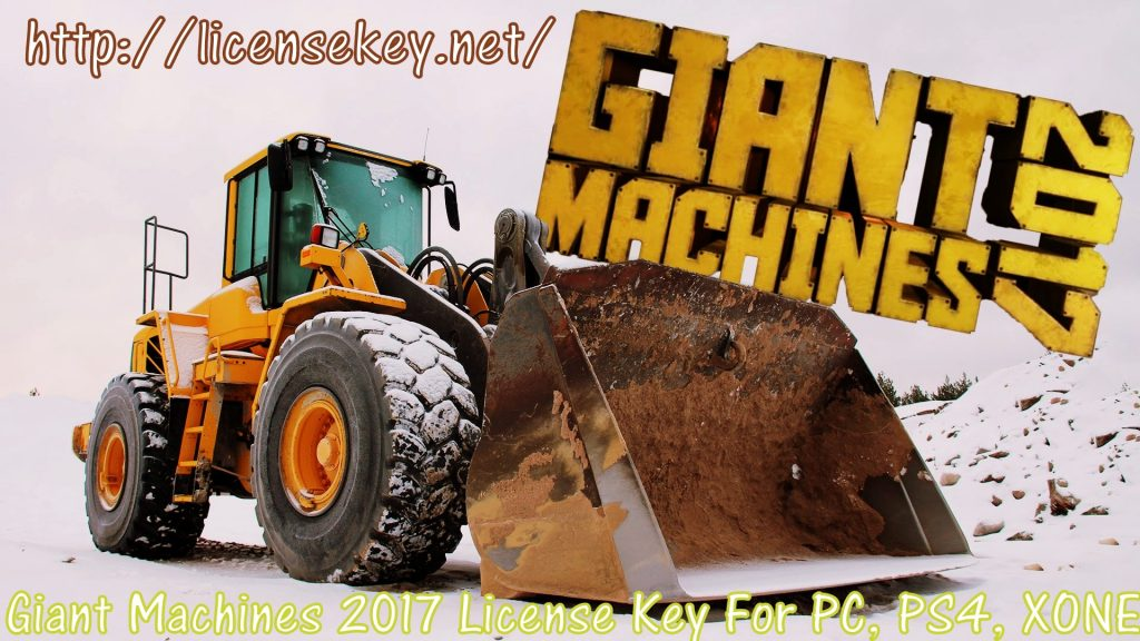 Giant Machines 2017 Crack License Key For PC, PS4, XONE