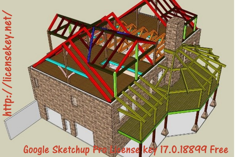 Google Sketchup Pro License key 17.0.18899 Free