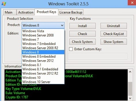 windows toolkit activate windows 10