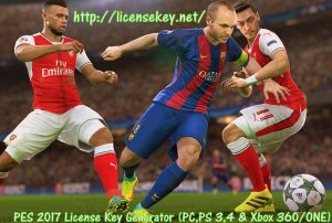PES 2018 License Key Generator with Crack Free Download