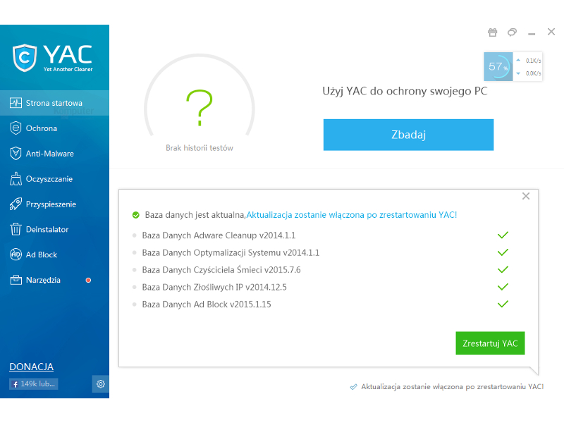 Yac Anti-Malware Premium license key