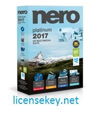 Nero 2018 Platinum Crack with License Key Free Download