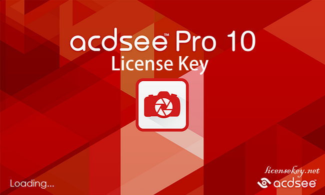 ACDSee 10 Pro License Key Full Download Free