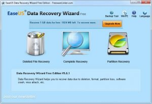 EaseUS Data Recovery Wizard 10.9 Crack With License Key