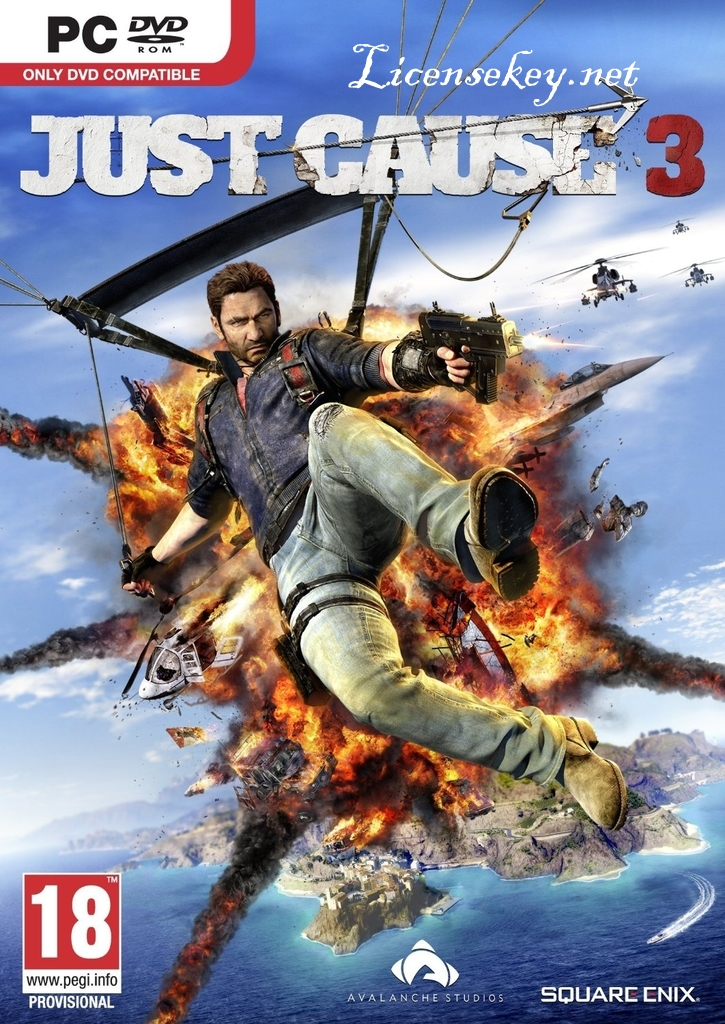 Just Cause 3 Crack & Key CPY Free Download