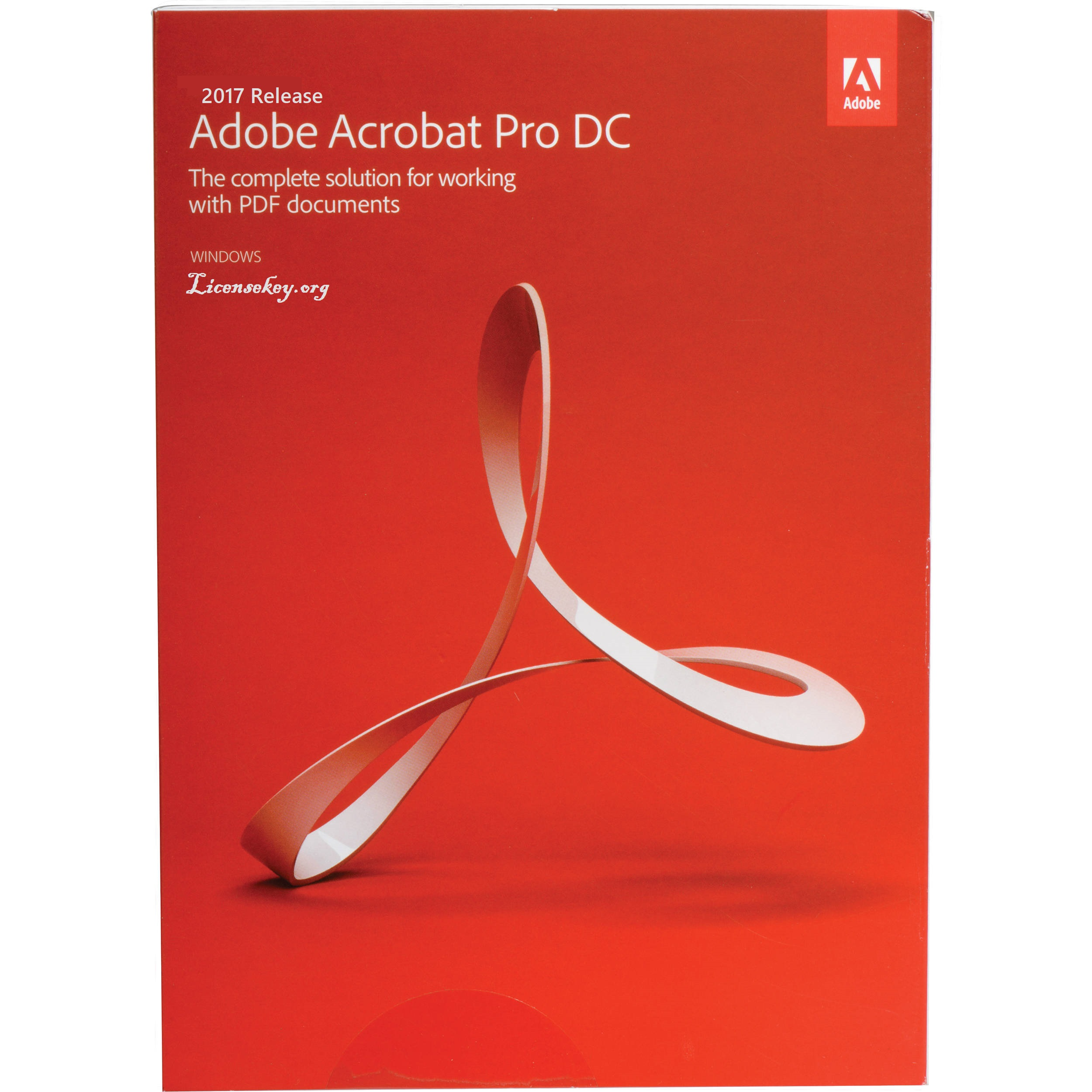 Adobe Acrobat Pro DC License Key 2017 Updated Version Full