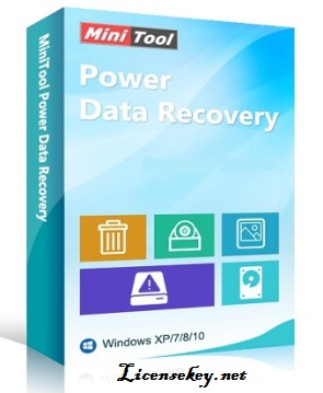 MiniTool Power Data Recovery 7.5 License Key with Crack Download