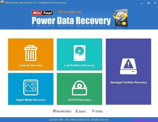 MiniTool Power Data Recovery 8.6 License Key Plus Crack [Latest 2019]