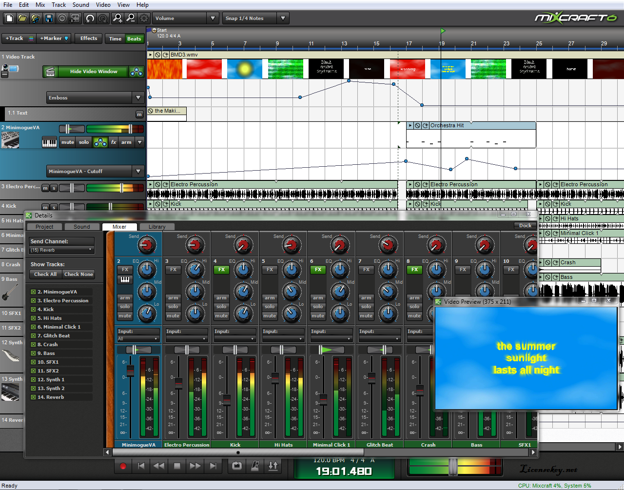 mixcraft 8 download for mac