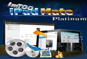 ImTOO iPad Mate Platinum 5.7.17 Crack & Keygen Build 20170220 Full Download