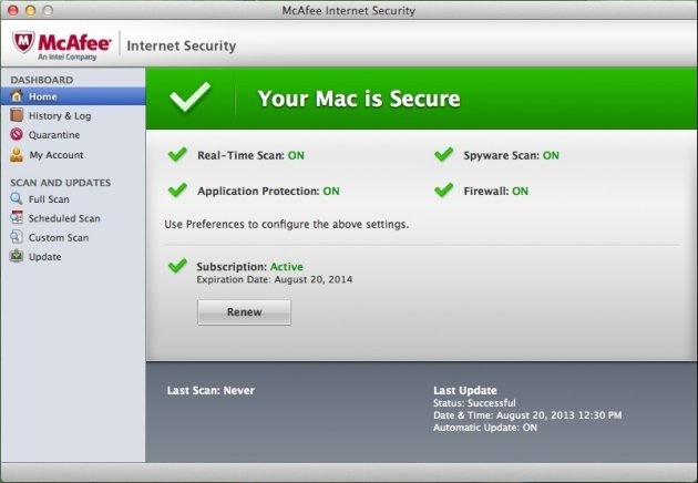 McAfee LiveSafe 2018 Key + Crack Full Free Download