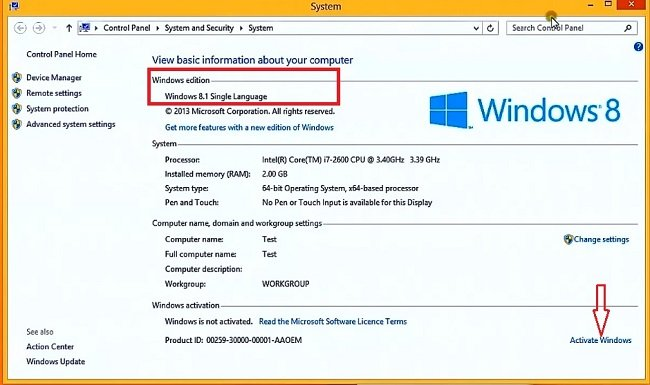 windows 8 os activation key download