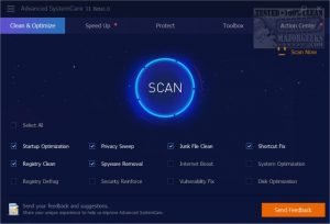 Advanced SystemCare Pro 11.1 License Key + Crack Free Download