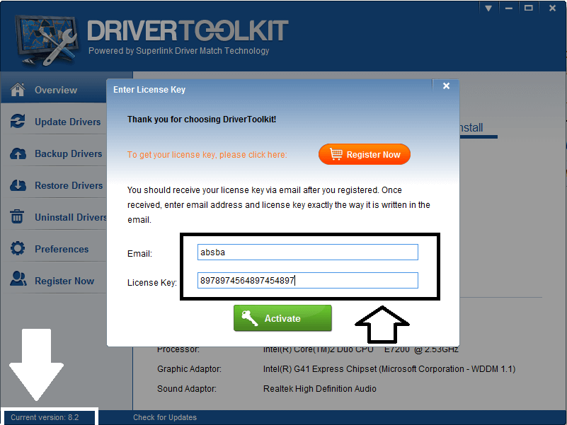 Driver Toolkit 8.6 License Key with Crack Free Download