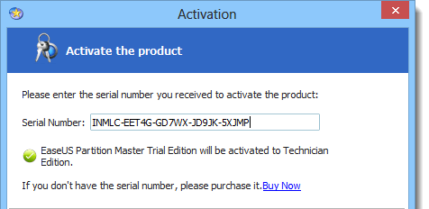 easeus partition master 12.5 serial key