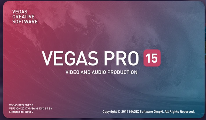 Sony Vegas Pro 15 Crack with Serial Number {Latest}