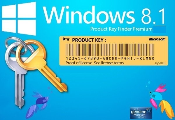 windows 8.1 key activation