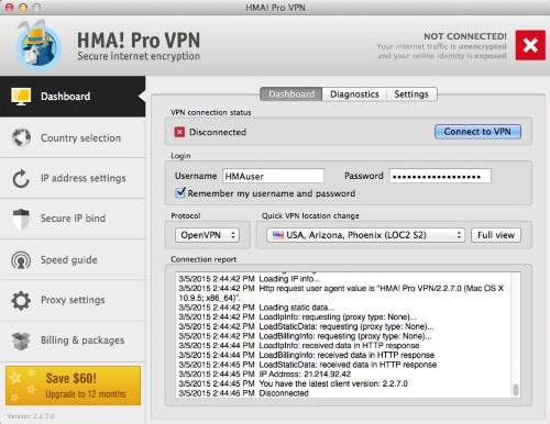 HMA Pro VPN Crack + License Key 2018 [Latest]