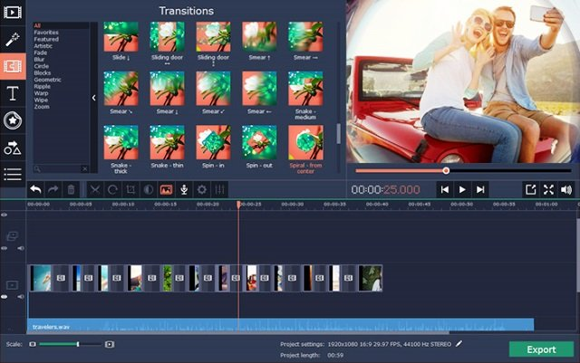 Movavi Video Editor 15 Crack + License Key {Latest}