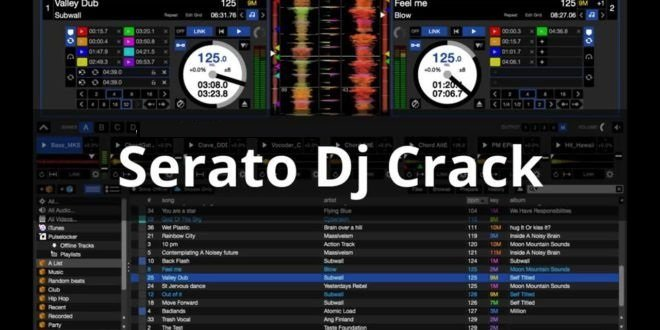 Serato DJ 2.1.0 Crack + Keygen [Mac & Windows] Free Download